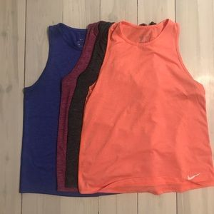 Lot of Nike Tanks - Size Small